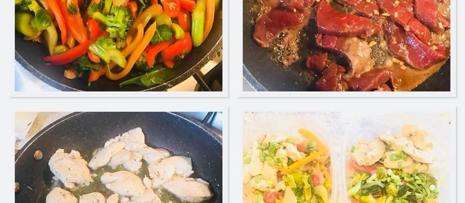 Stir fry two ways