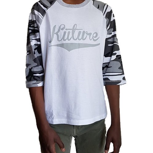 KUTURE SCRIPT YOUTH BASEBALL T