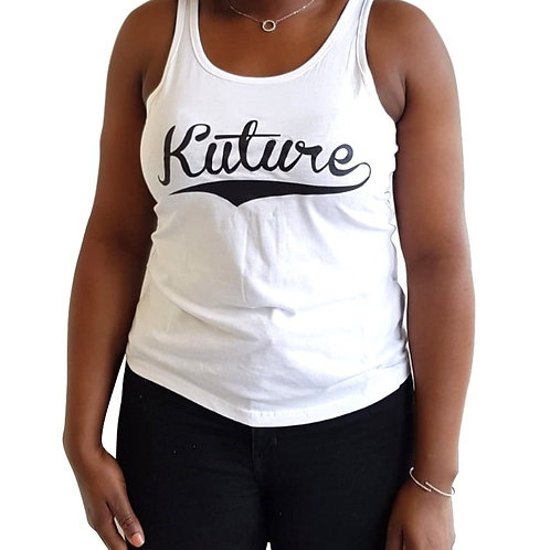 KUTURE SCRIPT LADIES TANK
