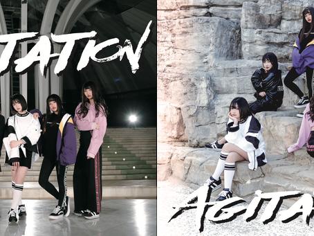 【RELEASE】本日2nd Single「Agitation」発売!