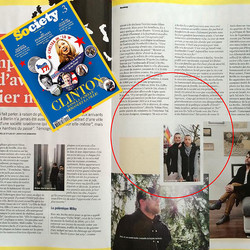 Society Magazine, Paris