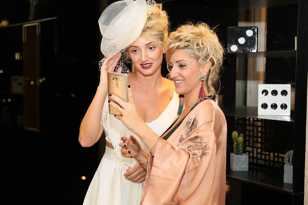 אורטל הובר - פיינליסטית בתחרות מעצבי שמלות כלה וערב. צילום: ראובן שניידר