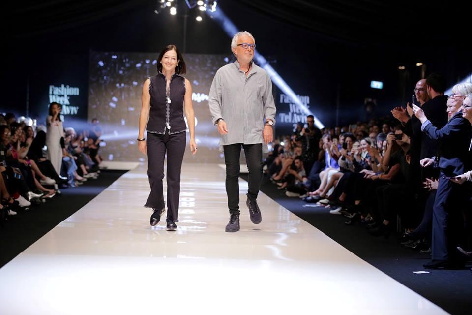 גדעון וקארן אוברזו. שבוע האופנה תל אביב. צילום אבי ולדמן