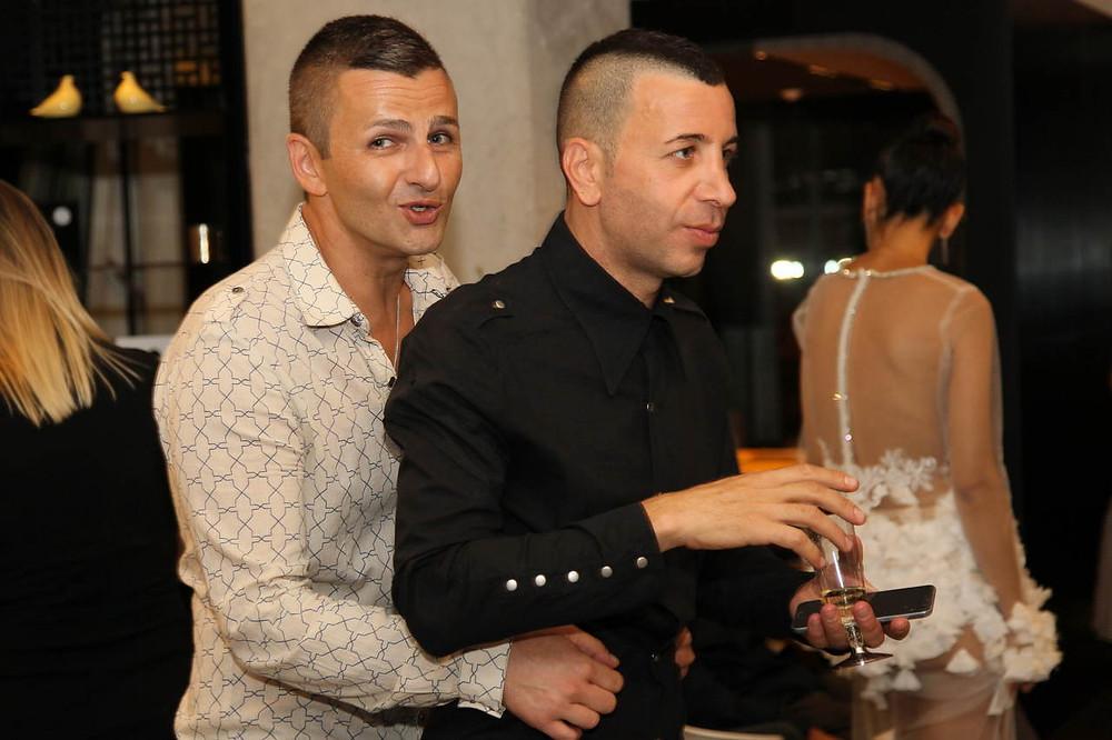איתי גורביץ וטל דקל - בעלי גואפו בית ספר למקצועות האופנה. צילום: ראובן שניידר