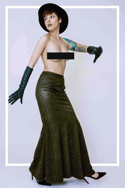 עיצוב: אן ברקוביץ' | איפור: אסתי אברביה | צילום: דן יוספי