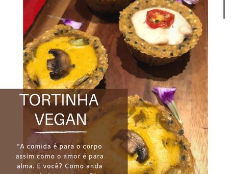 Dica Saúdavel | Tortinha Vegan