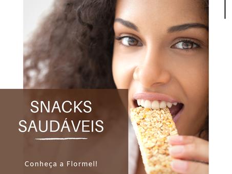 Dica Saudável | Snacks Saudáveis -Conheça a Flormel