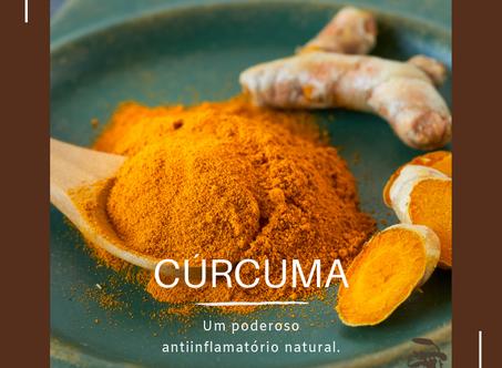Dica Saudável | Cúrcuma | Um poderoso antiinflamatório natural.
