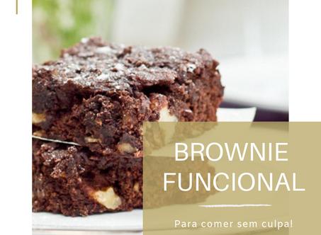 Dica Saudável | Brownie Funcional para comer sem culpa!