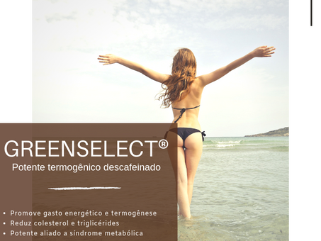 Greenselect® | Potente termogênico descafeinado