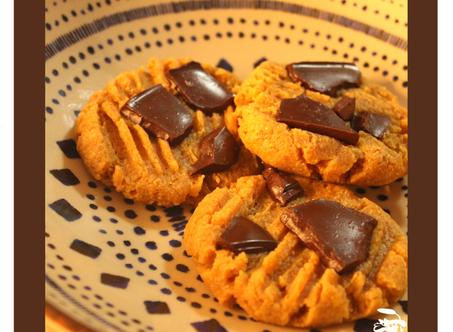 Dica Saúdavel | Cookie de grão de bico | Vegano, sem glúten e proteico.