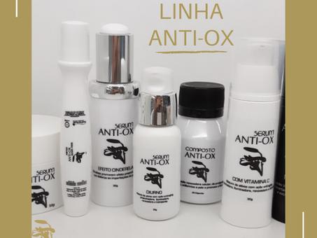 Linha Anti-Ox   O tratamento que a sua pele merece!