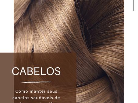 Dica Saudável   Como manter seus cabelos saudáveis de forma natural?