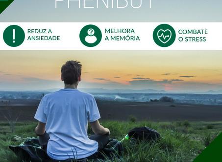 Phenibut® | Auxílio na redução de estresse e ansiedade.