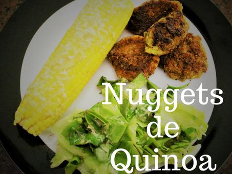 Dica Saudável - Nuggets de Quinoa (Vegano e Sem Glúten)