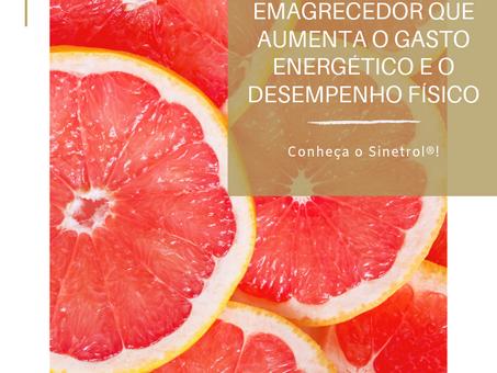 Emagrecedor que aumenta o gasto energético e o desempenho físico. | Sinetrol®
