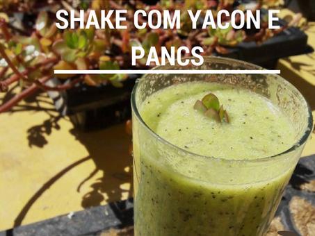 Dica Saudável - Shake com Yacon e PANCS