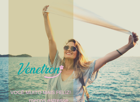 Venetron | Redução do estresse, ansiedade e depressão