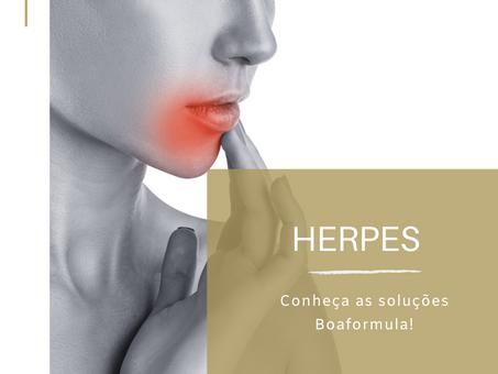 Herpes | Conheça as soluções Boaformula!