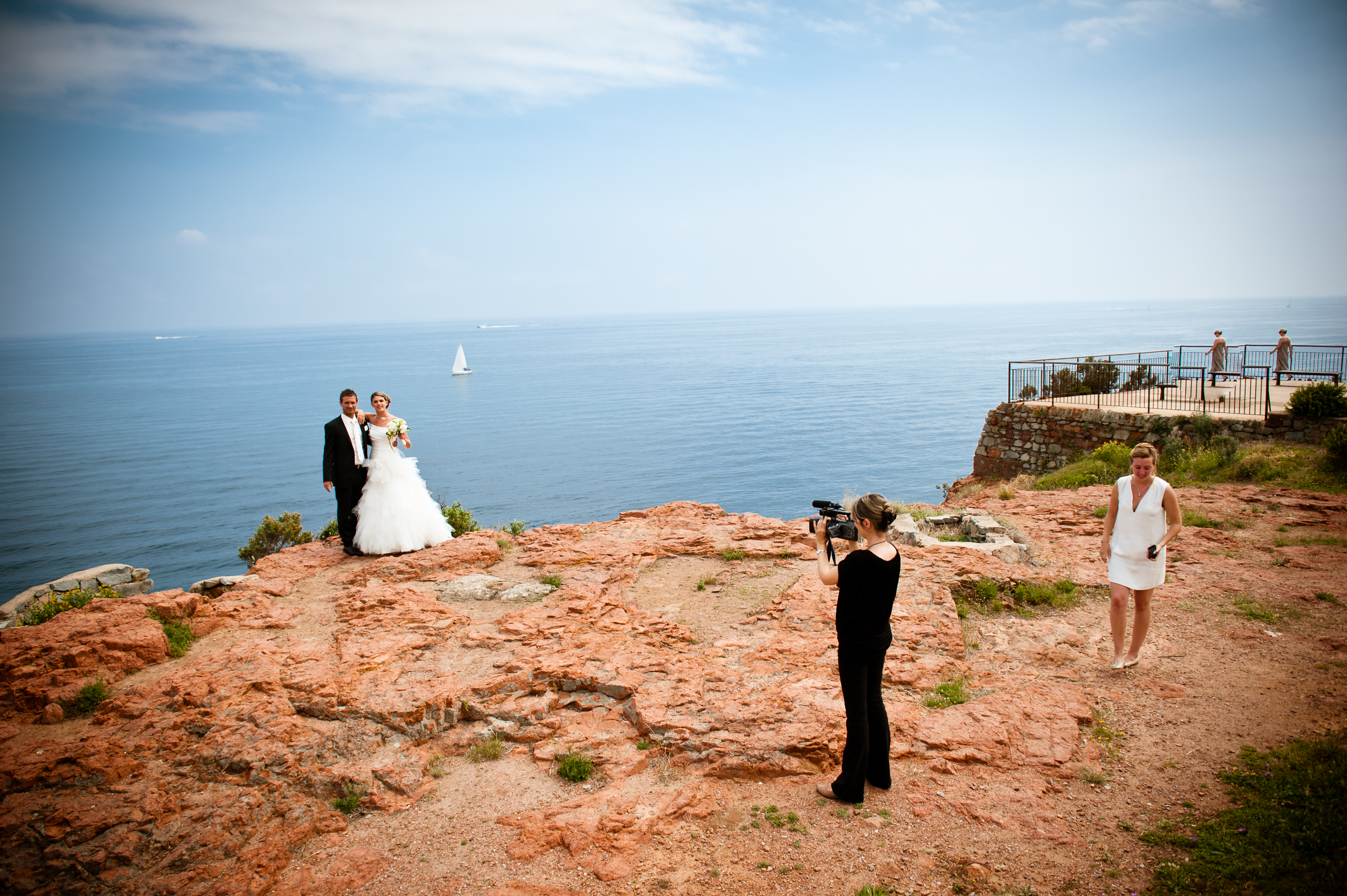 Mariés filmés par Sophie LAURENT