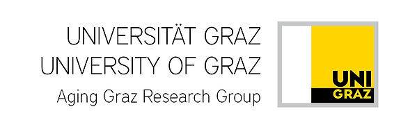 University of Graz / Universitat Graz:  Aging Graz Research Group and UNI GRAZ logo