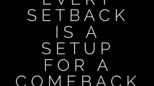 SEEMING SETBACKS