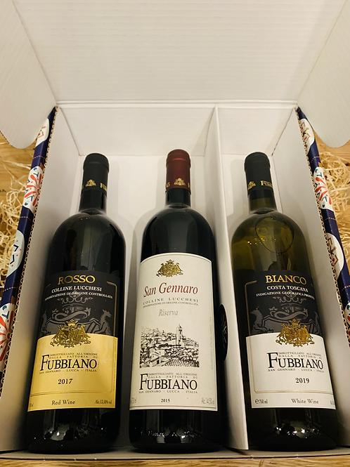 Wine Box - 3 bottles from £35