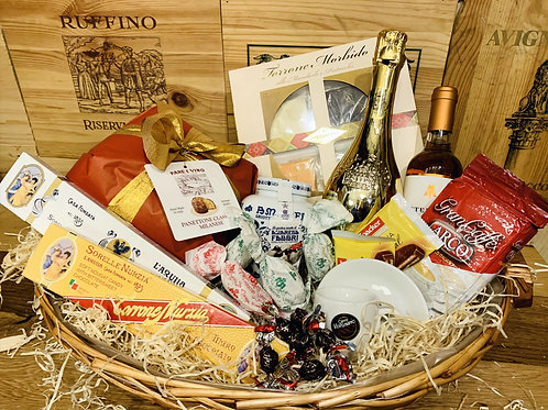 Pane e Vino Classic Hamper from £30