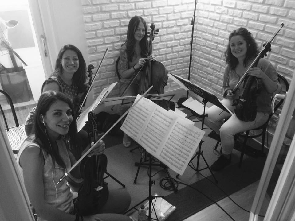 Quartetto d'archi Oliver Onions