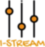 logomaker LOGO I-STREAM orange.png