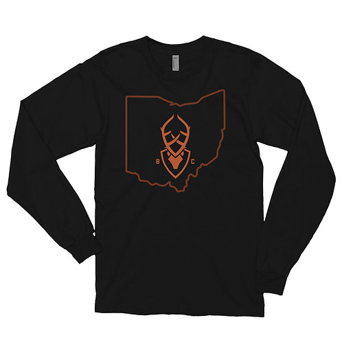 BC's Ohio Long sleeve t-shirt