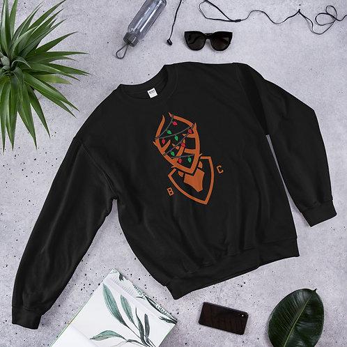 Christmas Bucky Unisex Sweatshirt