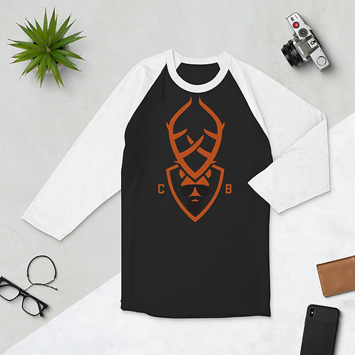 Crispy Boi 3/4 sleeve raglan shirt
