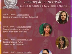 WOMCY Live Talks - Webinars    Disrupção e Inclusão
