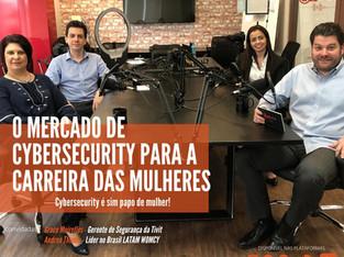 Gravação de Webcast e Podcast com Redbelt sobre o mercado de Cybersecurity para mulheres