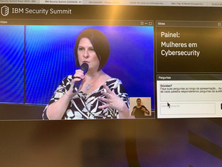 Painel Mulheres em Cybersecurity na IBM
