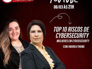 Live Top 10 Riscos de Cybersecurity