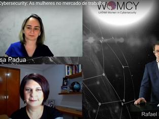 Andréa Thomé é entrevistada pelo canal de Cyber Security Summit Brasil