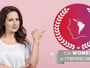 Divulgação do Prêmio Top Women in Cybersecurity