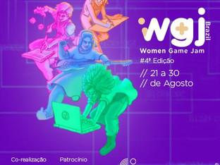 4a. edição do Women Game Jamde 21 a 30/08