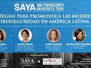 """Painel Internacional """"Estrategias Para Promover a las Mujeres en Ciberseguridad en America Lati"""