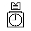 Clocking and time management logo