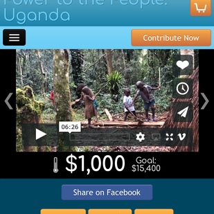 Power to the People - Solar For the Batwa!