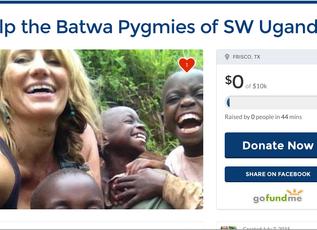 Help the Batwa Pygmies of SW Uganda — Go Fund Me