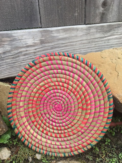 Red, Green and Pink Trivet