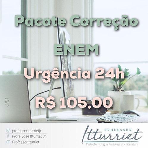Pacote Correção ENEM Urgência 24h