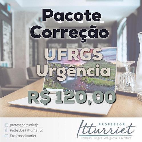 Pacote Correção UFRGS Urgência