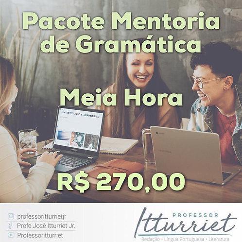 Pacote Mentoria de Gramática Meia Hora
