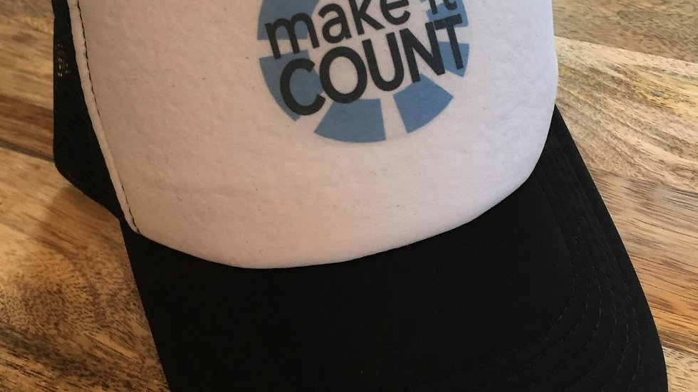 make it count Trucker Hat