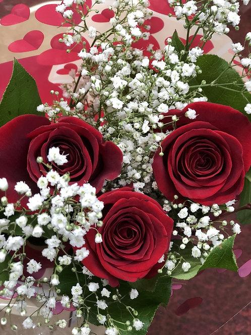 Classic Three Roses